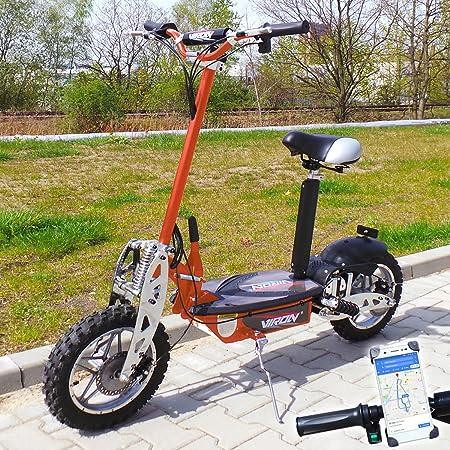Viron Elektro Scooter 1000 Watt E-Scooter Roller 36V / 1000W Elektroroller V.7