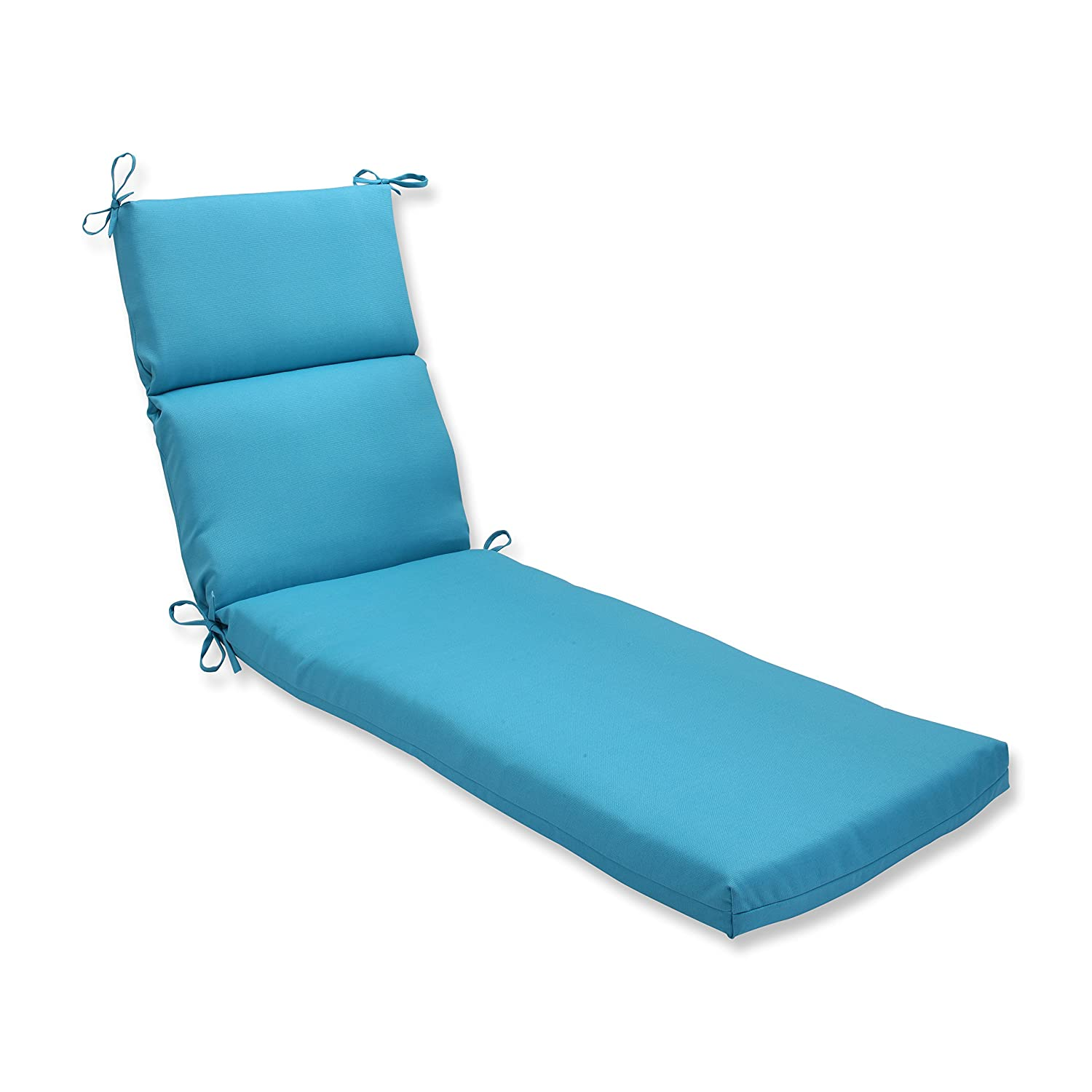 Attirant Amazon.com: Pillow Perfect Outdoor Veranda Turquoise Chaise Lounge Cushion:  Home U0026 Kitchen