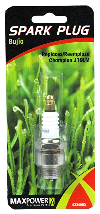 Amazon.com : Maxpower 334053 Spark Plug Replaces NGK B2LM Champion J19LM Autolite 458 : Lawn Mower Spark Plugs : Garden & Outdoor