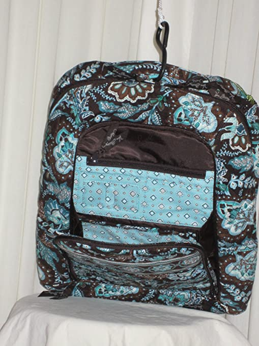 f000e7edd5e Amazon.com  VERA BRADLEY LAPTOP BACKPACK (Large) -
