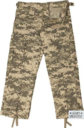 Army Universe Kids ACU Digital Camouflage Military Army BDU Pants Fatigues  Pin (L - Size 87541b26d83