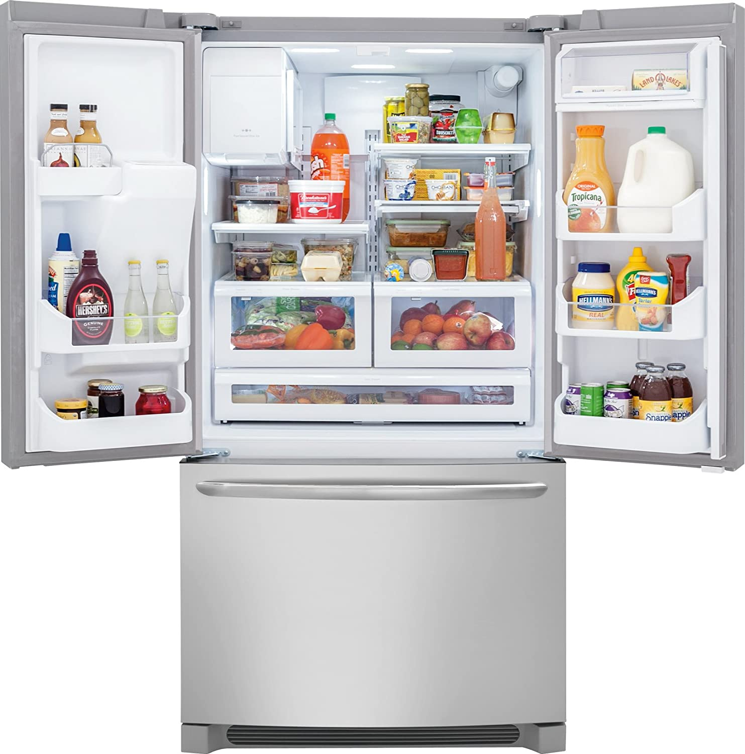 frigidaire door ideas second french refrigerator icemaker professional