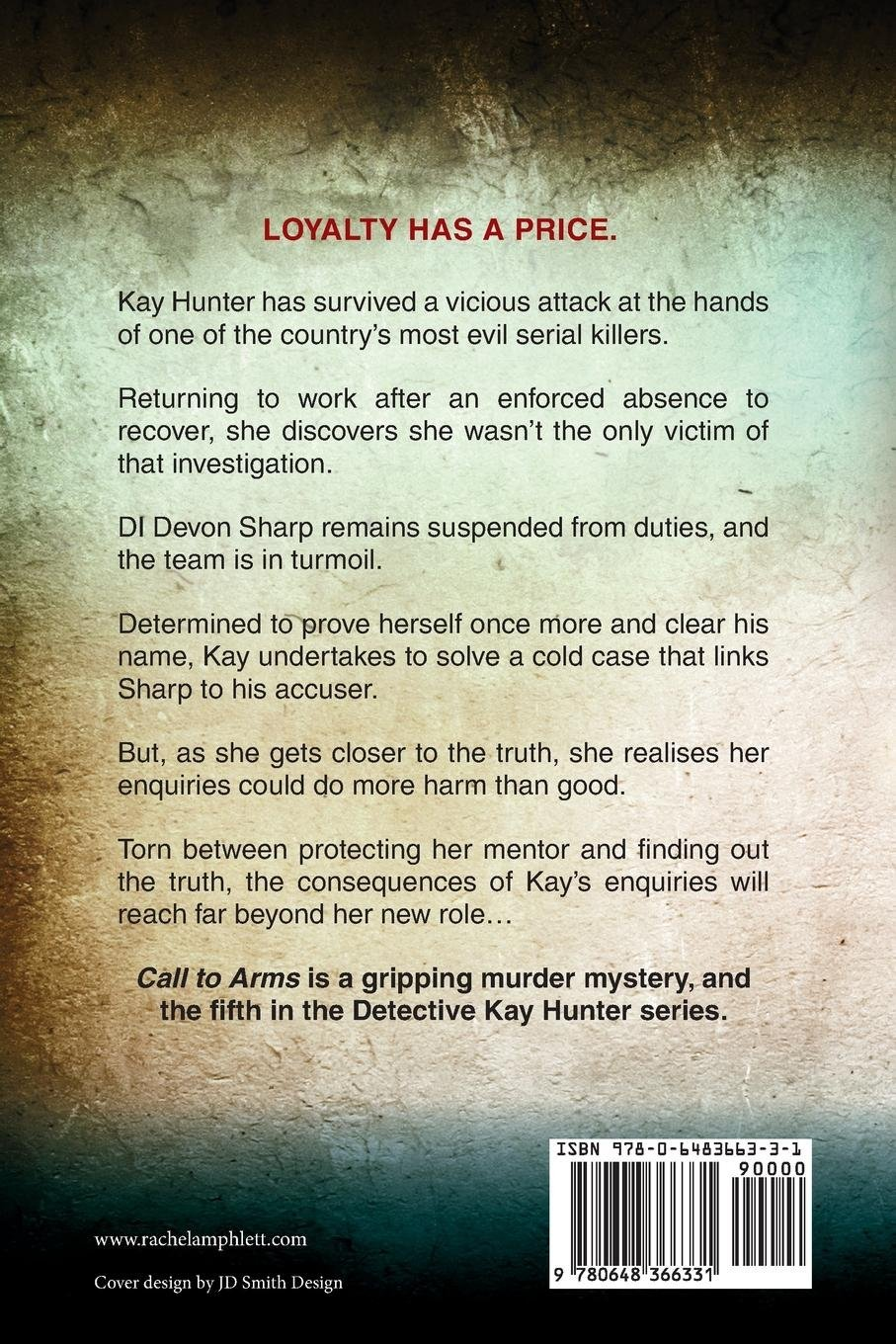 Call to Arms: A British cold case murder mystery (Detective Kay