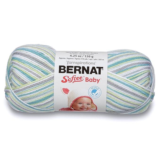 4b77119a4f9c Amazon.com  Bernat Softee Baby Yarn -Prince Pebbles