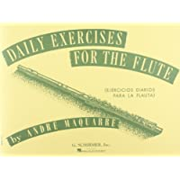 Image for Daily Exercises for the Flute / Ejercicios diarios para la flauta (Spanish Edition)