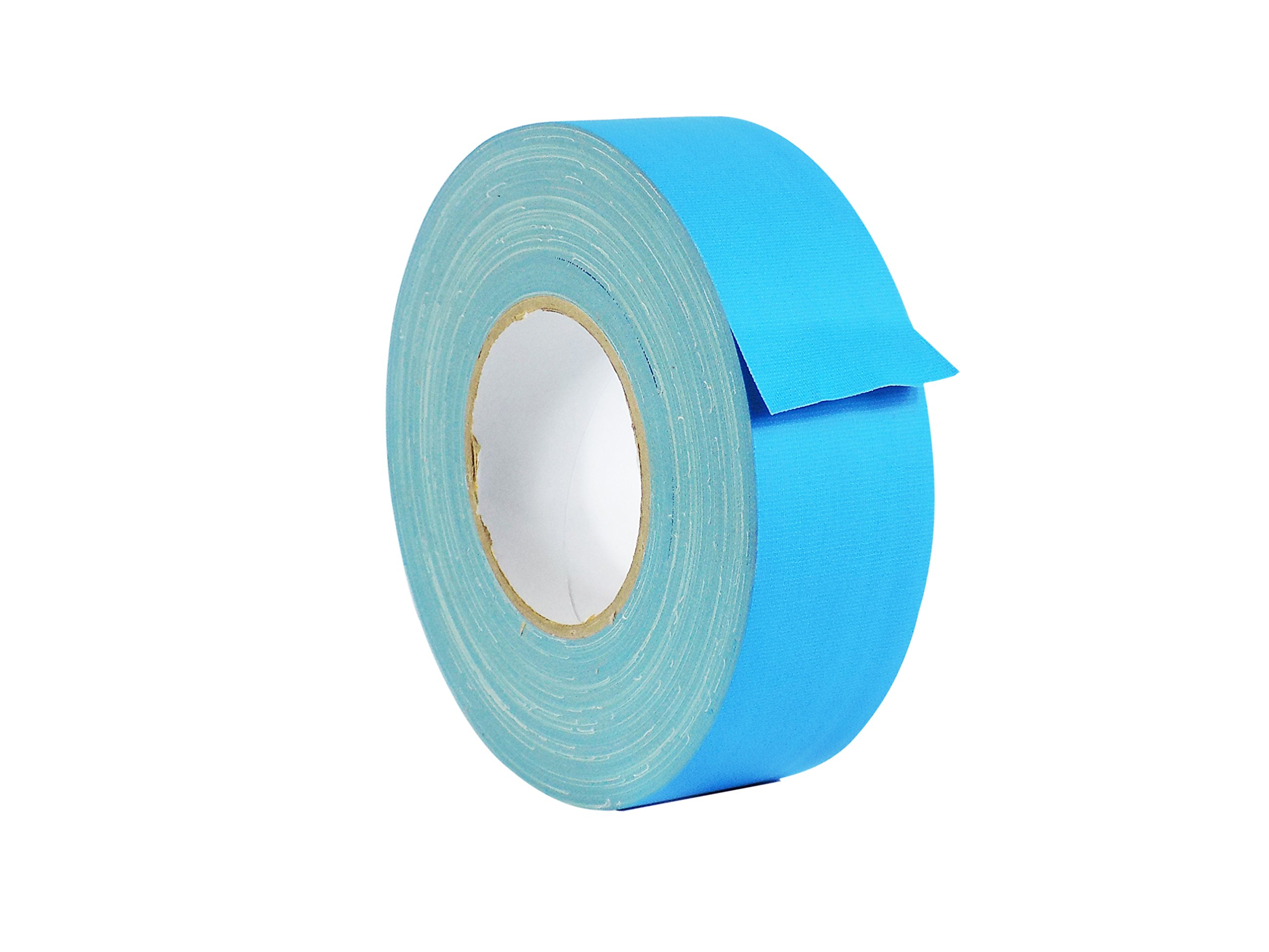 WOD CGT-80 Light Blue Gaffer Tape Low Gloss Finish Film, Residue Free, Non Reflective Gaffer, Better than Duct Tape (Available in Multiple Sizes & Colors): 1.5 in. X 60 Yards (Pack of 1)