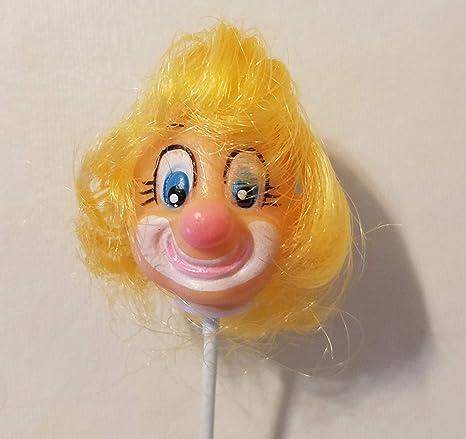 """Vintage Darice Vinyl Doll Head 2 1//4/"""""""
