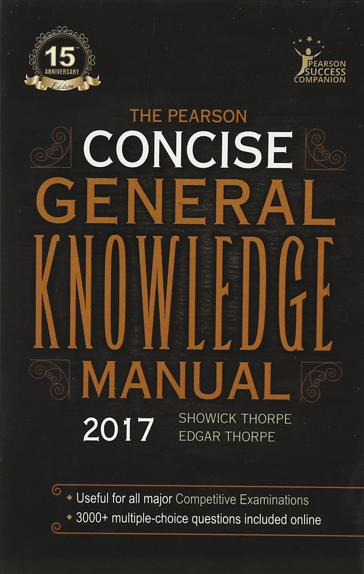 pearson s concise gk manual