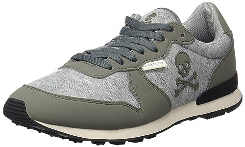 Scalpers Bayside Insignia, Zapatillas para Hombre, Grey, 42 EU: Amazon.es: Zapatos y complementos