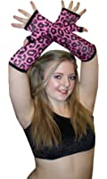 Leopard Printed Long Gloves