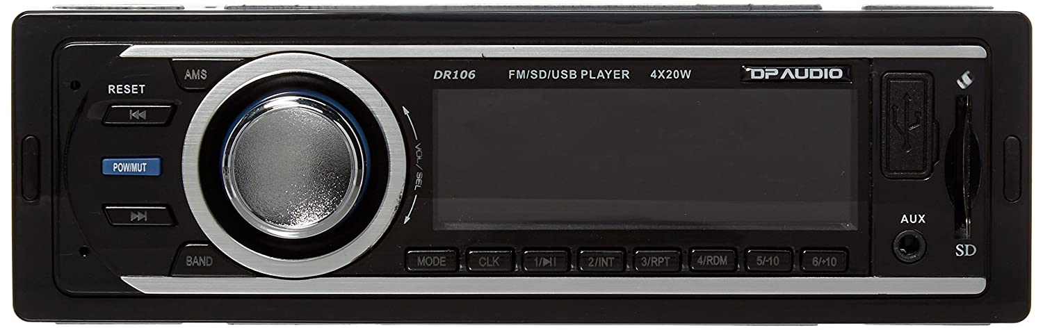 818iw4rhSDL._SL1500_ amazon com dp audio dr106 fm and mp3 stereo receiver with usb port