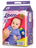 Libero Small Open Diaper (40 Counts)