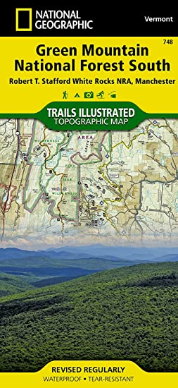 Amazon.com: Green Mountain National Forest South [Robert T. Stafford ...
