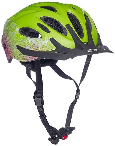ABUS Fahrradhelm Arica - Casco de ciclismo multiuso, color verde, talla 58-62