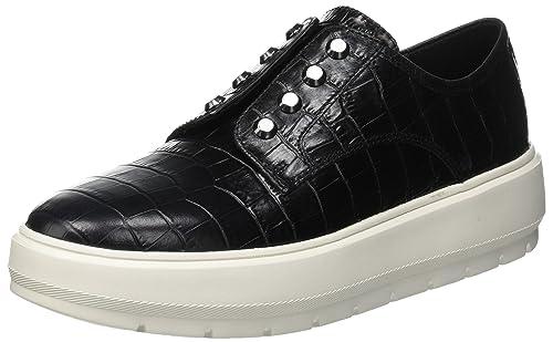 Geox D Kaula C, Zapatillas sin Cordones para Mujer: Amazon.es: Zapatos y complementos