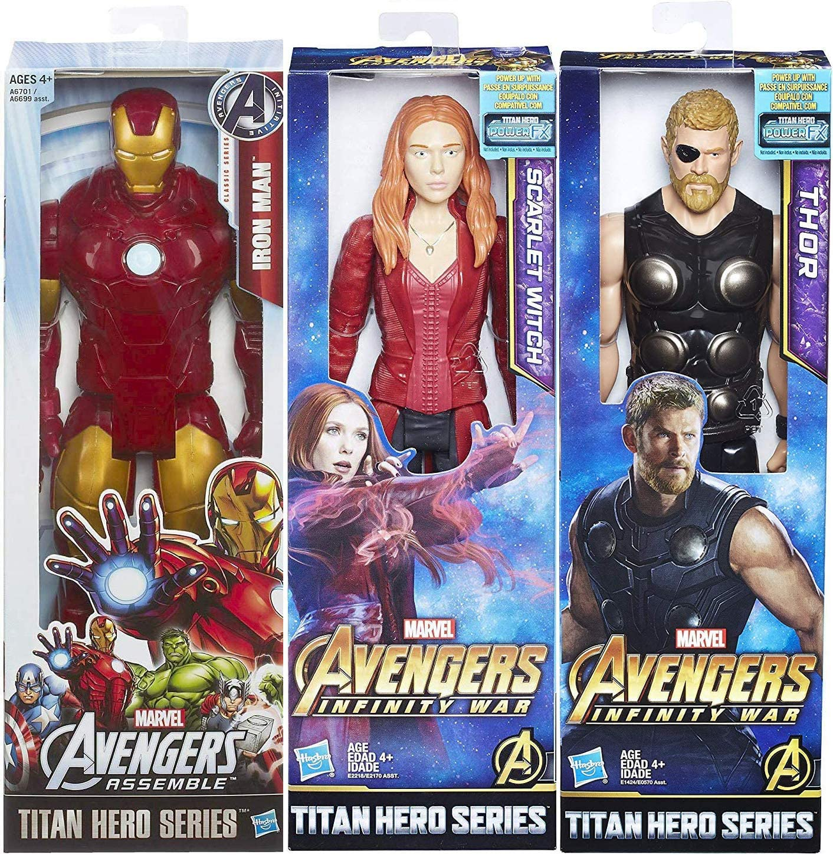 Marvel SCARLET WITCH Avengers Infinity Wars Titan Hero Series Action Figure