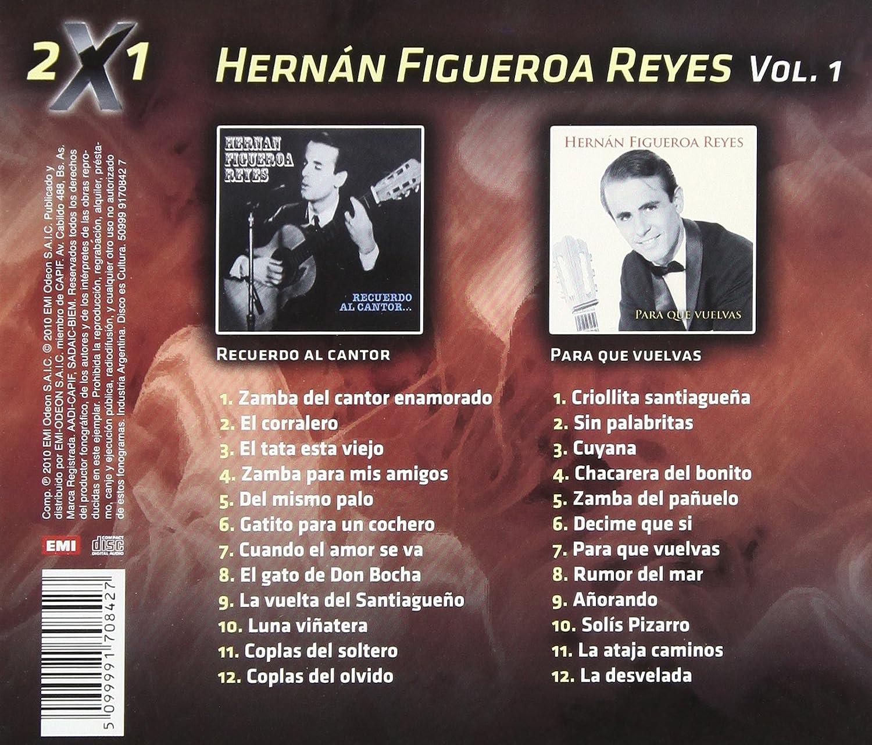Hernan Figueroa Reyes, Eladia Blázquez, Atahualpa Yupanqui - 2 X 1 - Amazon.com Music