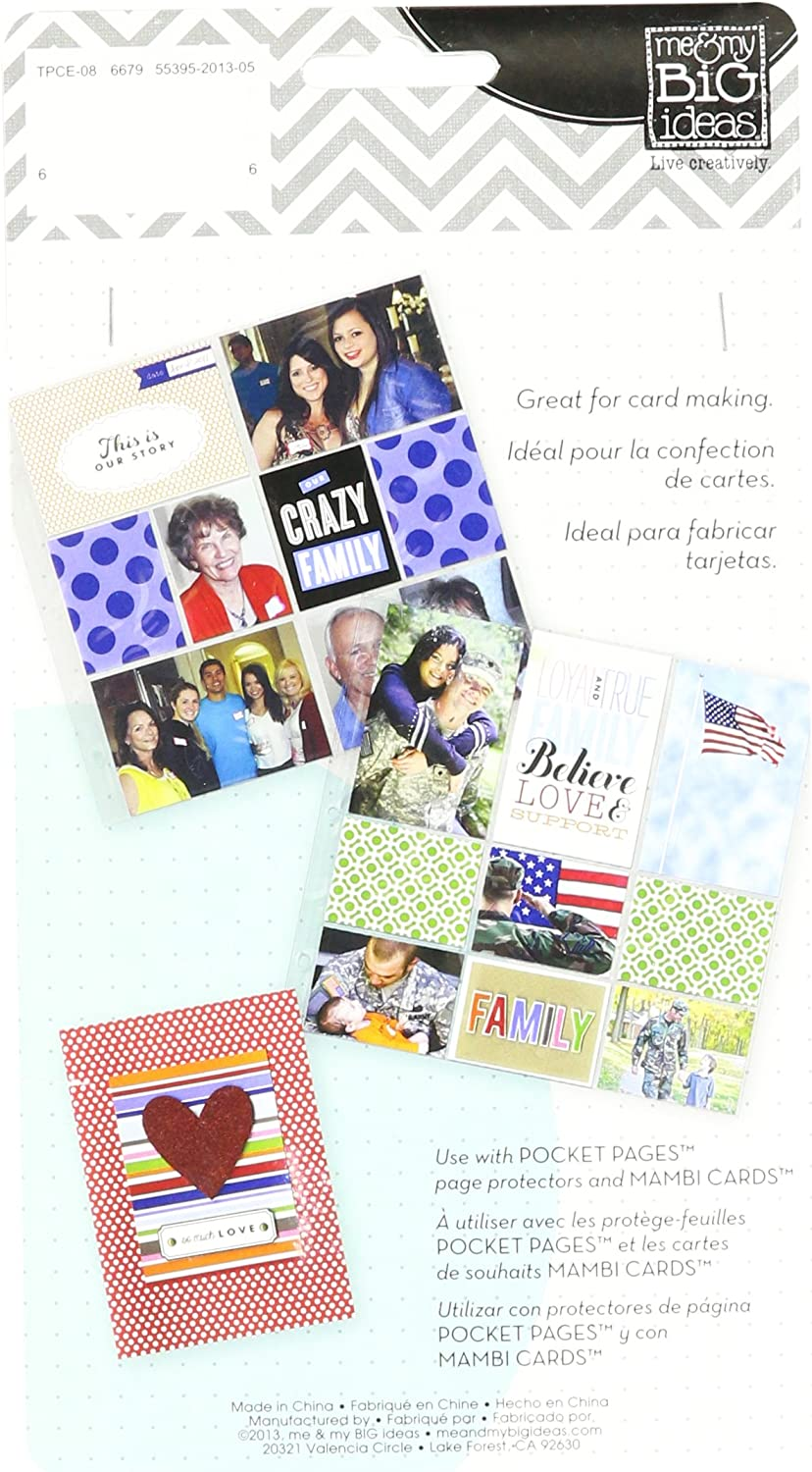 me /& my BIG ideas Pocket Pages Pocket Cards Our Family