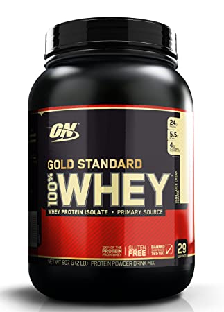 Optimum Nutrition Gold Standard 100% Whey, Extreme Milk Chocolate, Proteína en Polvo, Chocolate con Leche - 908 gr: Amazon.es: Salud y cuidado personal