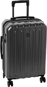 DELSEY Paris Titanium Hardside Expandable Luggage with Spinner Wheels, Graphite, Carry-On