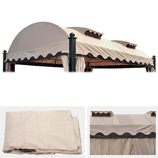 Mendler tejado de Repuesto para pérgola Daroca 4,5 x 3,5 m, de ...