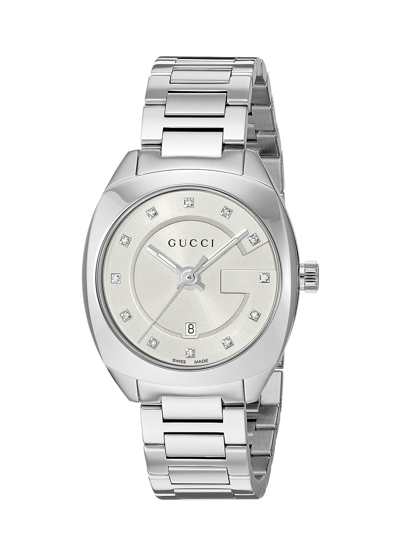 d2bb83c83fa Top3  Gucci Swiss Quartz Stainless Steel Dress Silver-Toned women s Watch(Model   YA142504)