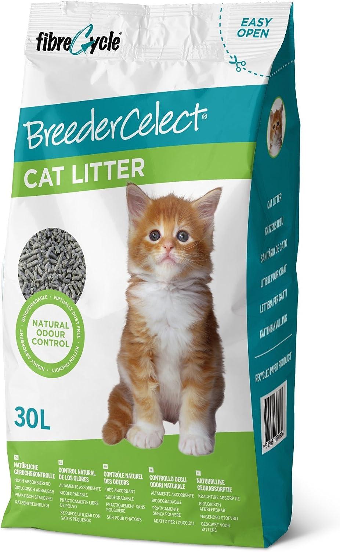 BreederCelect 12-37030 Pellets Papel Reciclado, 30 l