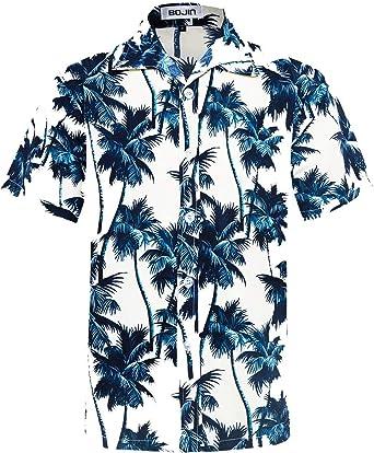 Camisa Hawaiana de Playa para Hombre, Manga Corta, diseño Floral, clásico, Informal, Ajuste Regular: Amazon.es: Ropa y accesorios