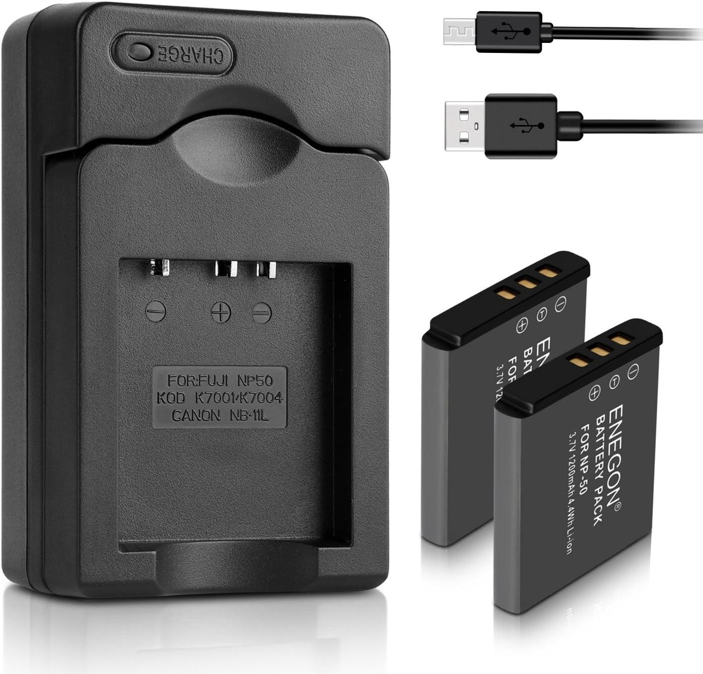 Cargador de np-50 para Fuji x20 Fujifilm Instax Square sq 10 cable de carga
