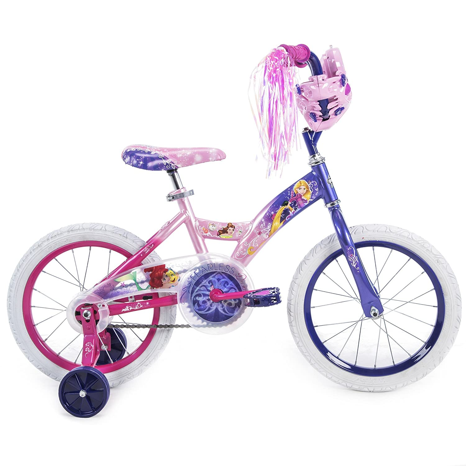 d2aa9cc2db3 Amazon.com : Girls 16 inch Huffy Disney Princess Bike : Sports & Outdoors