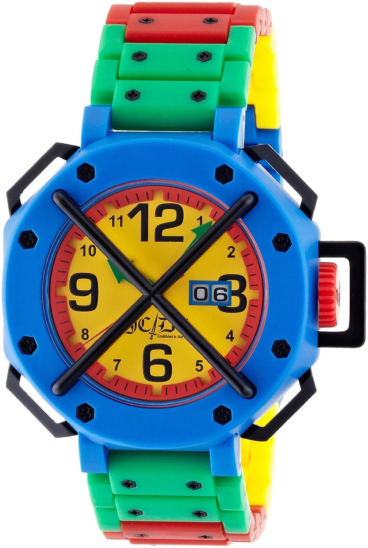 [オーディーエム]o.d.m 腕時計 カステルバジャックコラボモデル Time Track (タイムトラック) アナログ表示 イエロー TT01-5 【正規輸入品】 B004UDLPZW