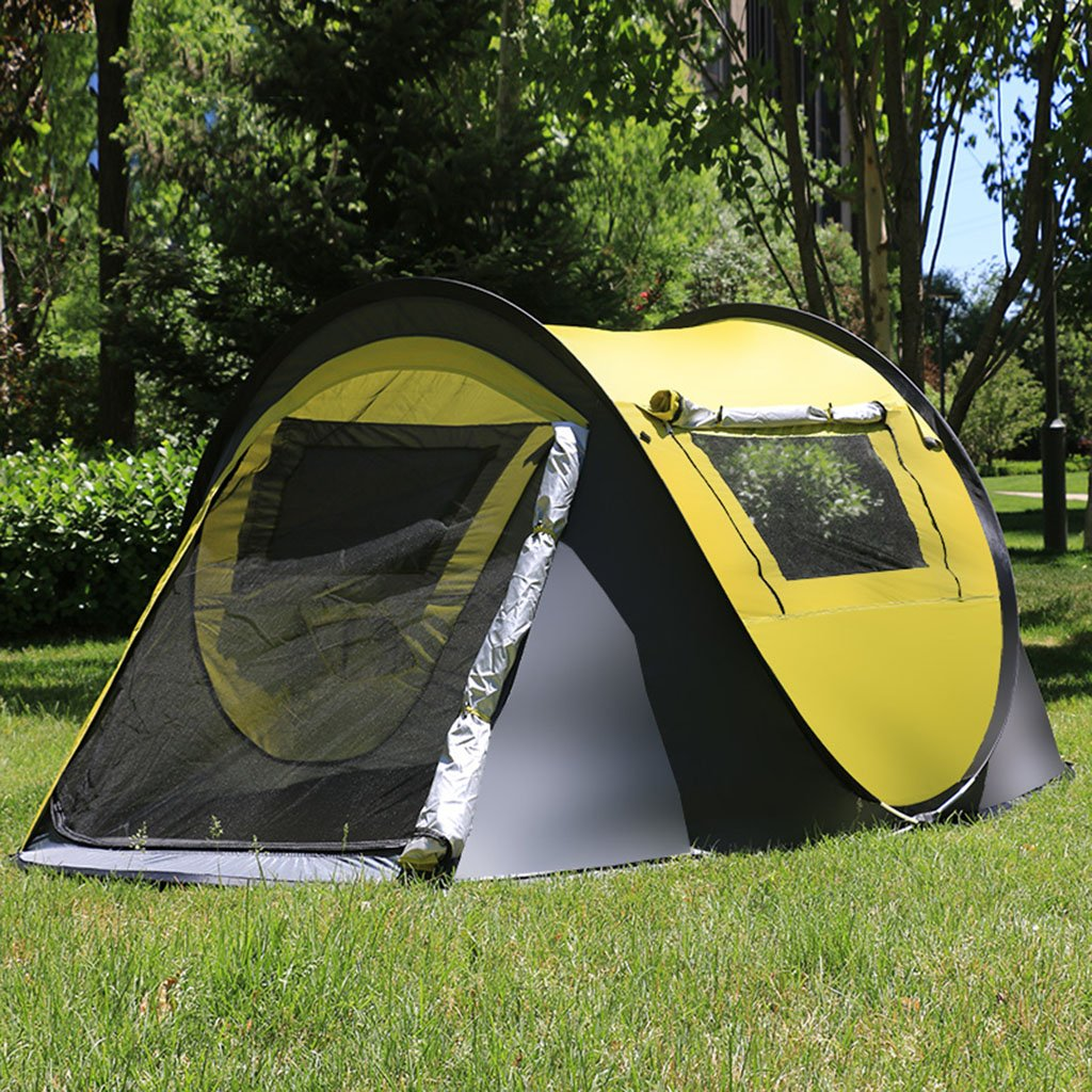 テント、幕張二重自動スピード、キャンプ釣り用シェルター(サイズ:245 * 150 * 105Cm)  B B07CR6ZK8X