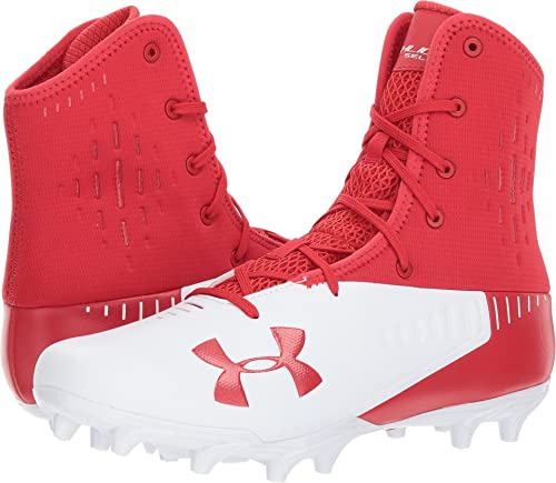 d93bc9bf5 Under Armour Men s UA Highlight Select MC Red White 13.5 D US ...