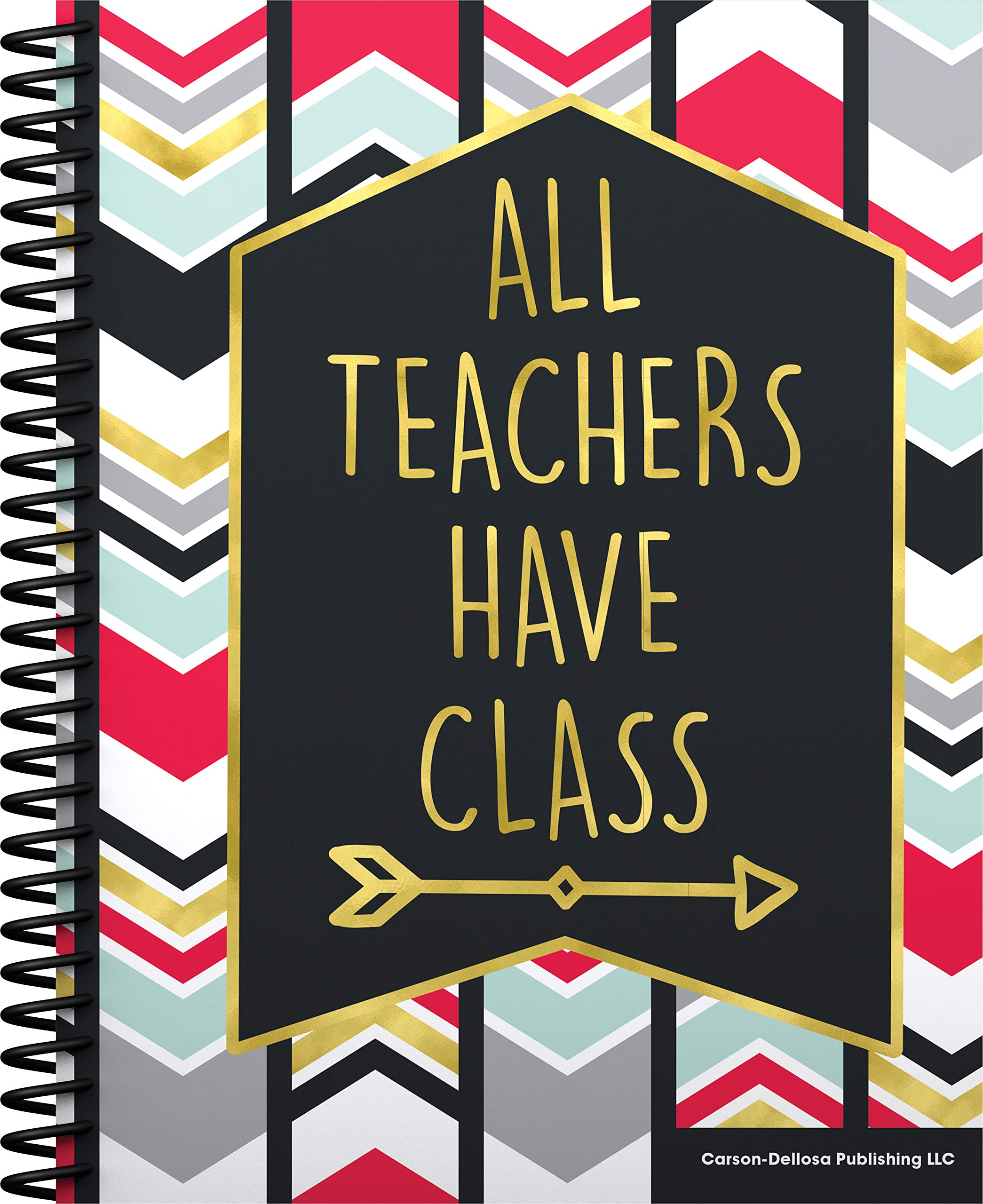 Carson-Dellosa Aim High Teacher Planner Plan Book