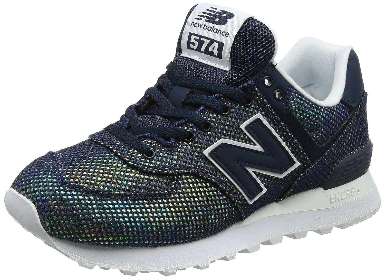 New Balance Wl574v2, Zapatillas para Mujer 37.5 EU|Negro (Galaxy)