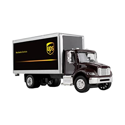 Daron Ups Box Truck 1/50 Gwups001: Toys & Games
