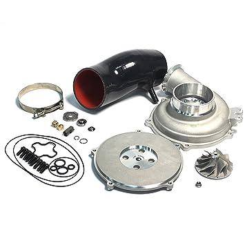 Powerstroke 7.3L GTP38 Turbo Bigger 66/88 mm. fundido Compresor Wheel Upgrade reconstruir Kit DIY: Amazon.es: Coche y moto