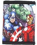 Marvel Avengers Super Hero Stuff Comics Trifold Wallet for Boys Children Kids