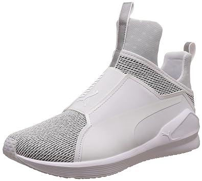 3c6de60579b7 Puma - Basket Fierce Knit 190303-01 Black: Amazon.fr: Chaussures et Sacs