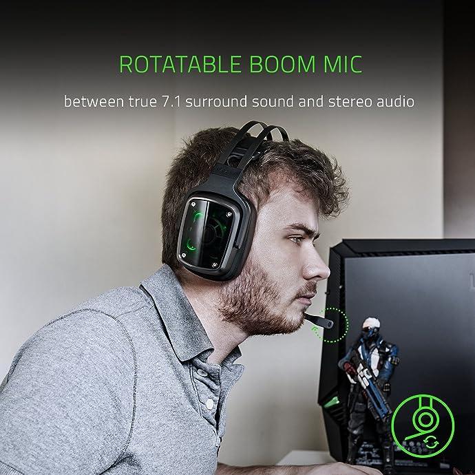 Razer 雷蛇 迪亚海魔7.1 v2 游戏耳麦 环绕音效耳机 3.9折$78.99 海淘转运到手约¥627