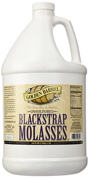 Golden Barrel Bulk Unsulfured Blackstrap Molasses Jug (128 fl oz)