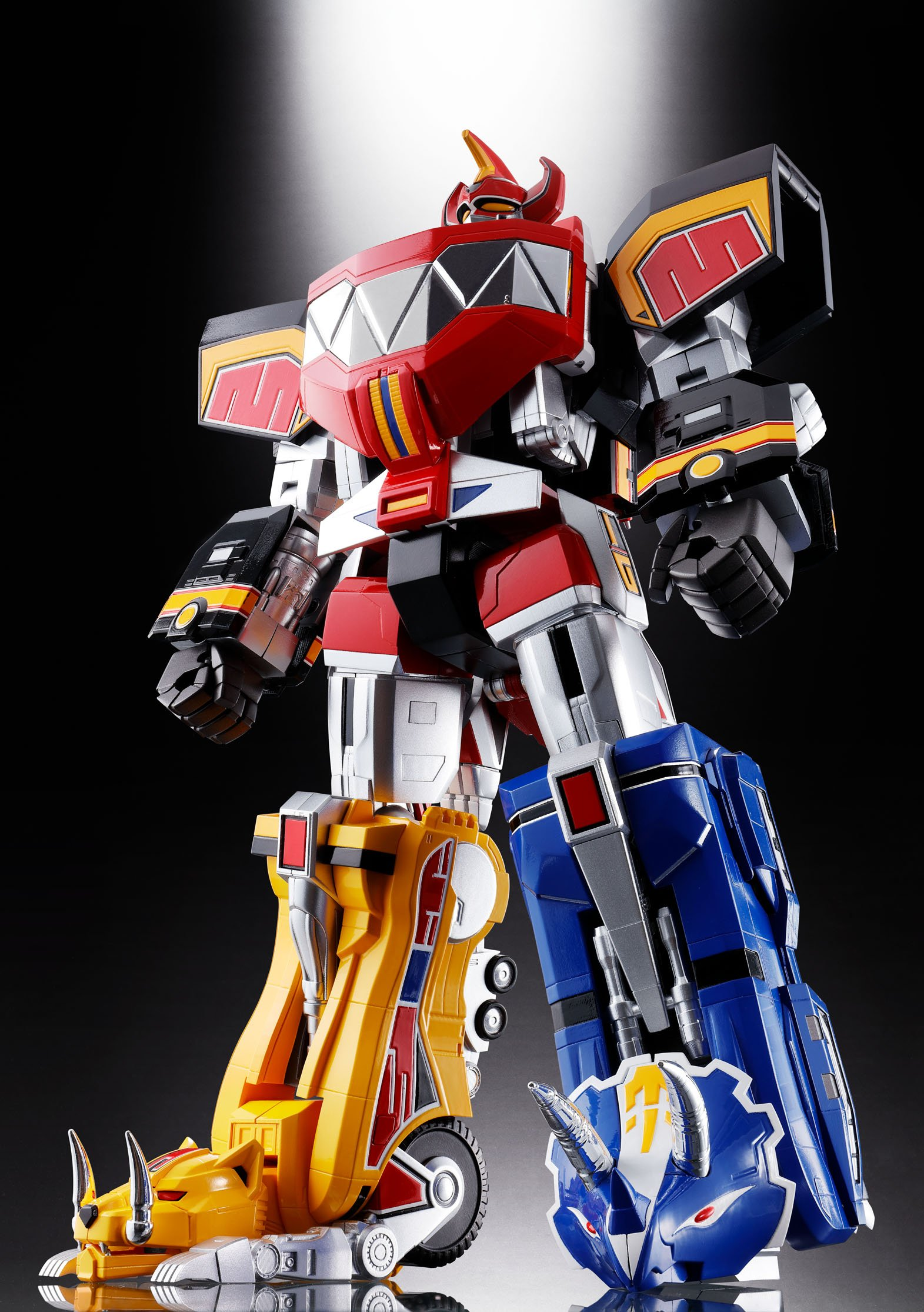 Bandai Tamashii Nations Soul of Chogokin Mighty Morphing Power Rangers Action Figure by Bandai (Image #16)