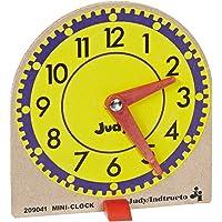 Judy Instructo Mini-Clocks - 4 1/8 x 4 inches - Set of 12, Size 6