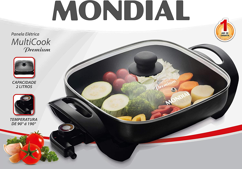 Mondial PE-03 Olla eléctrica 1300W-30x30 cm: Amazon.es: Hogar