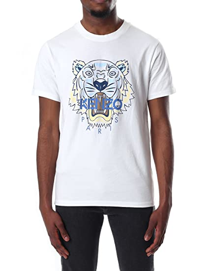 999e467c Kenzo Men's Short Sleeve Tiger T-Shirt: Amazon.co.uk: Clothing