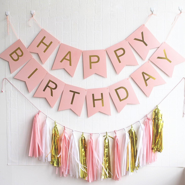custom banner pennant bunting Pennant banner diy banner Happy Birthday banner birthday decoration pennant garland banner kit