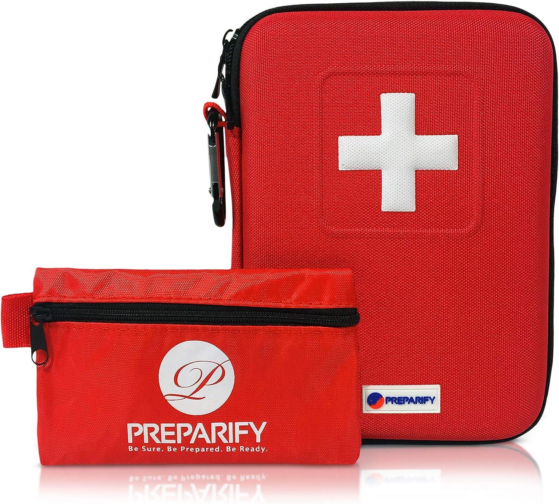 Botiquín de Primeros Auxilios marca Preparify +150 artículos