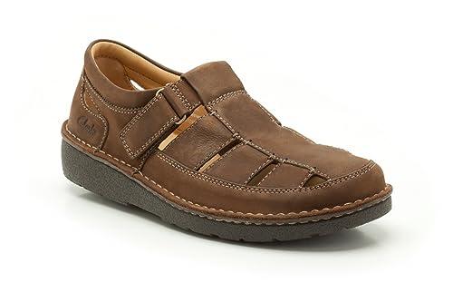 Clarks Nature Open Größe 38.5 Braun (Braun): Schuhe