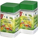 Castelló Since 1907 Edulcorante Stevia 1:8 - Paquete de 2 x 300 gr - Total: 600 gr