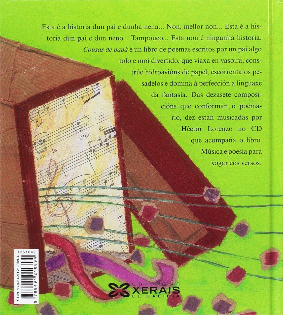 Cousas de papá Infantil E Xuvenil - Pequeno Merlín - Albums: Amazon.es: Gómez Pato, Raúl, Lorenzo Piñeiro, Héctor, Barrio Gutiérrez, Blanca: Libros